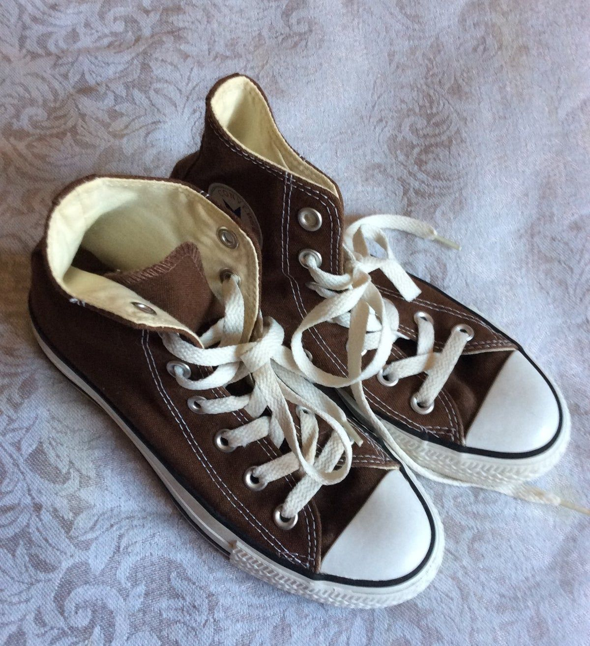 Converse All Star Sneakers Brown on Mercari