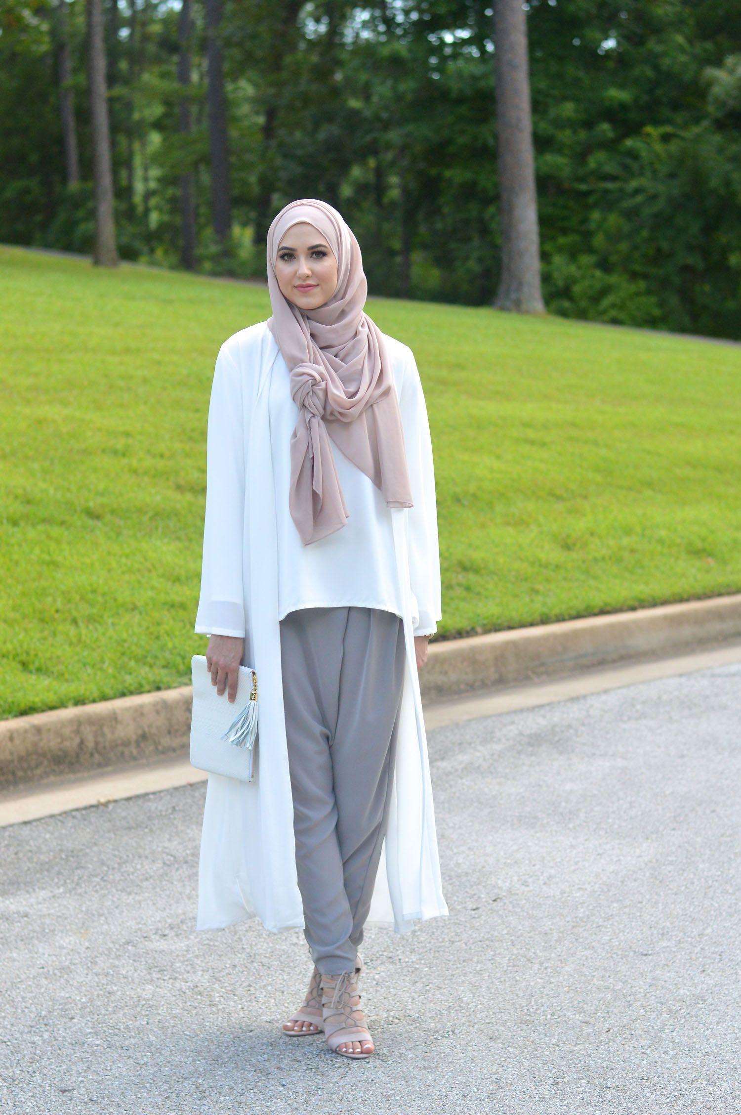 Spring & Summer  Hijab fashion summer, Fashion, Hijab fashion