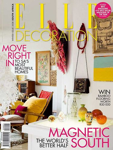 Elle Decoration South Africa Interiors magazine Elle decor and
