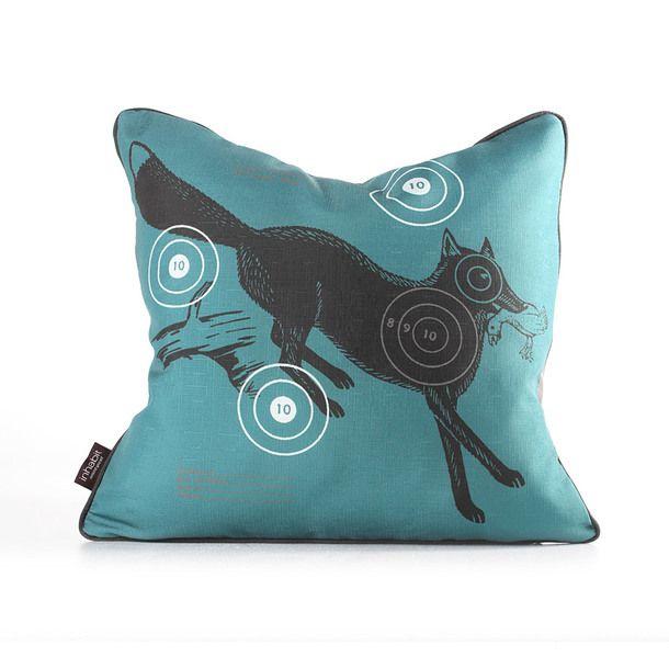 Fox Bullseye Pillow 18x18 Corn  I got it for $25 on MyHabit