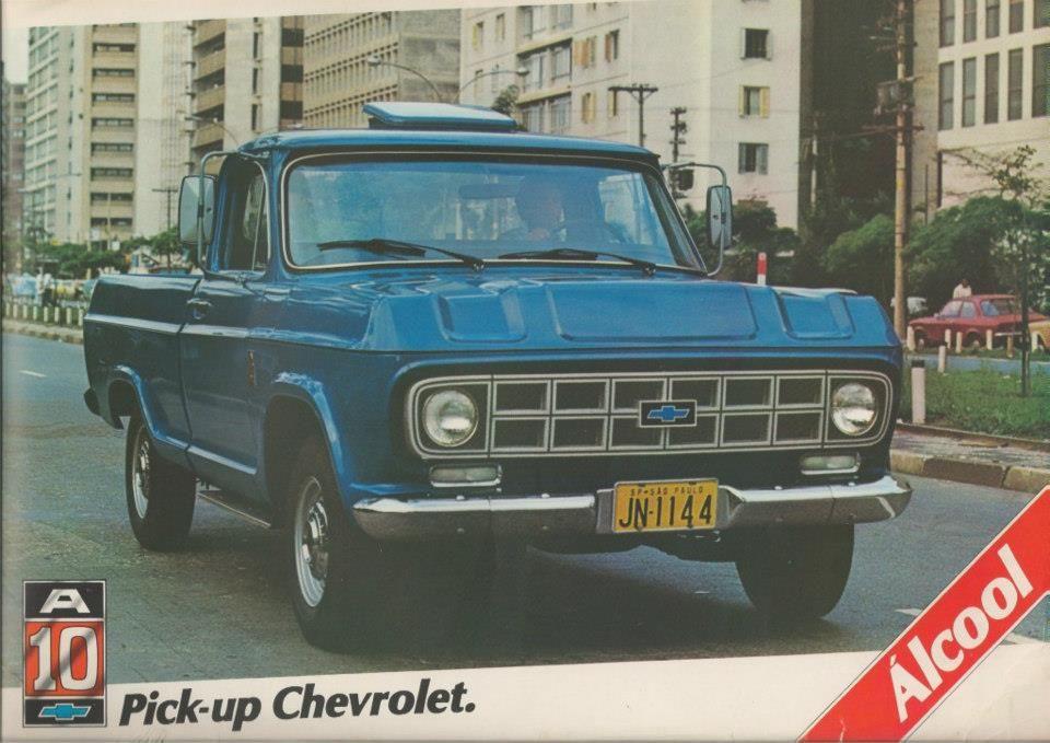 1981 Chevrolet A 10 Brasil Caminhoes Classicos Carros E Caminhoes Picapes