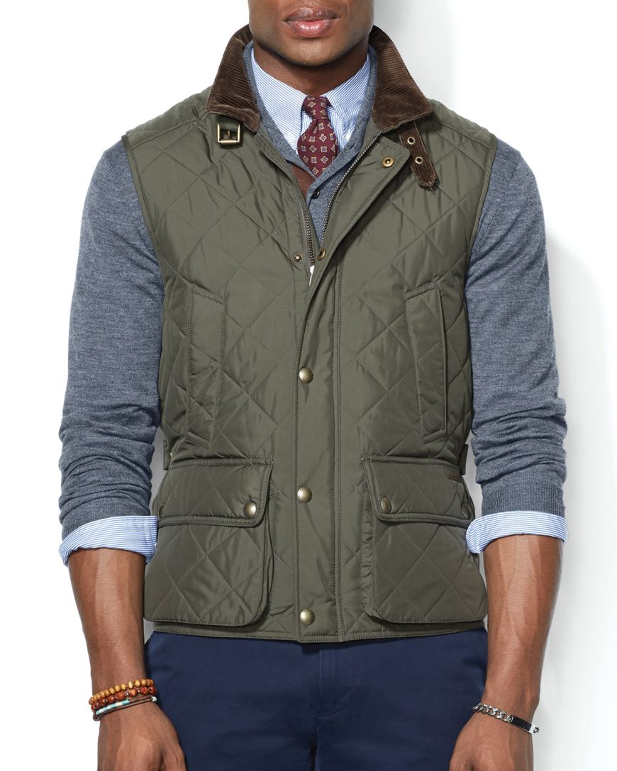 Lauren Quilted Ralph VestBloomingdales's Epson Vests Polo IvY7ym6gbf