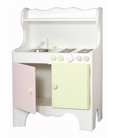 Take A Look At This Pink Green Play Kitchen By Little Colorado On Zulily Today