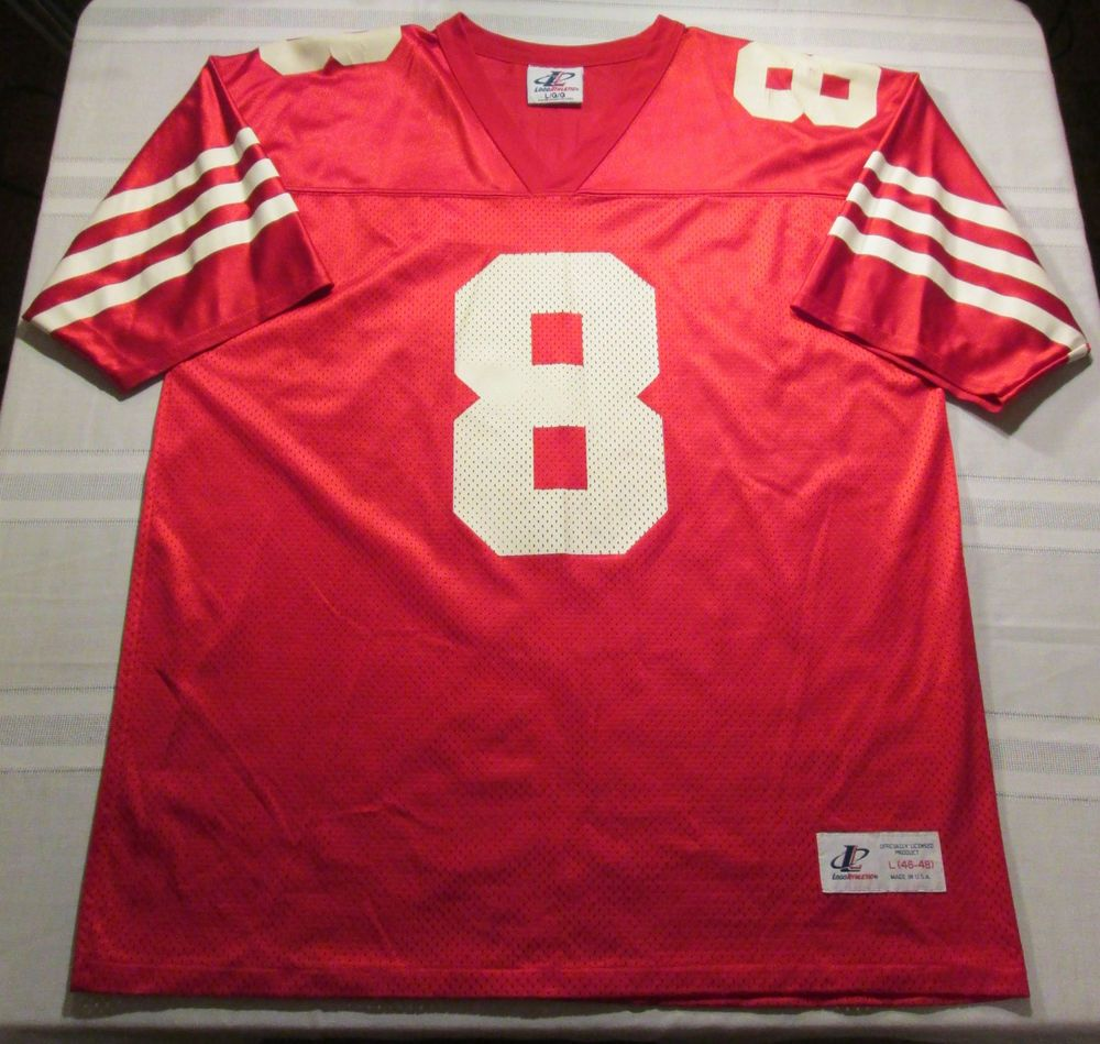 low priced ff969 32a4c NFL- San Francisco 49er's #8 Steve Young VINTAGE Jersey by ...
