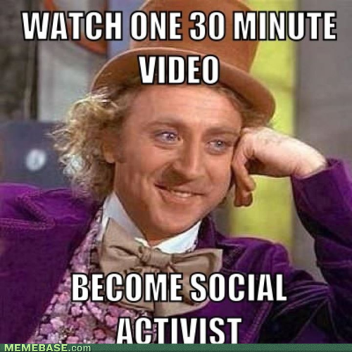 Exactly how I feel about the Kony sharers, who have done zero research on this topic but spread it like wildfire.