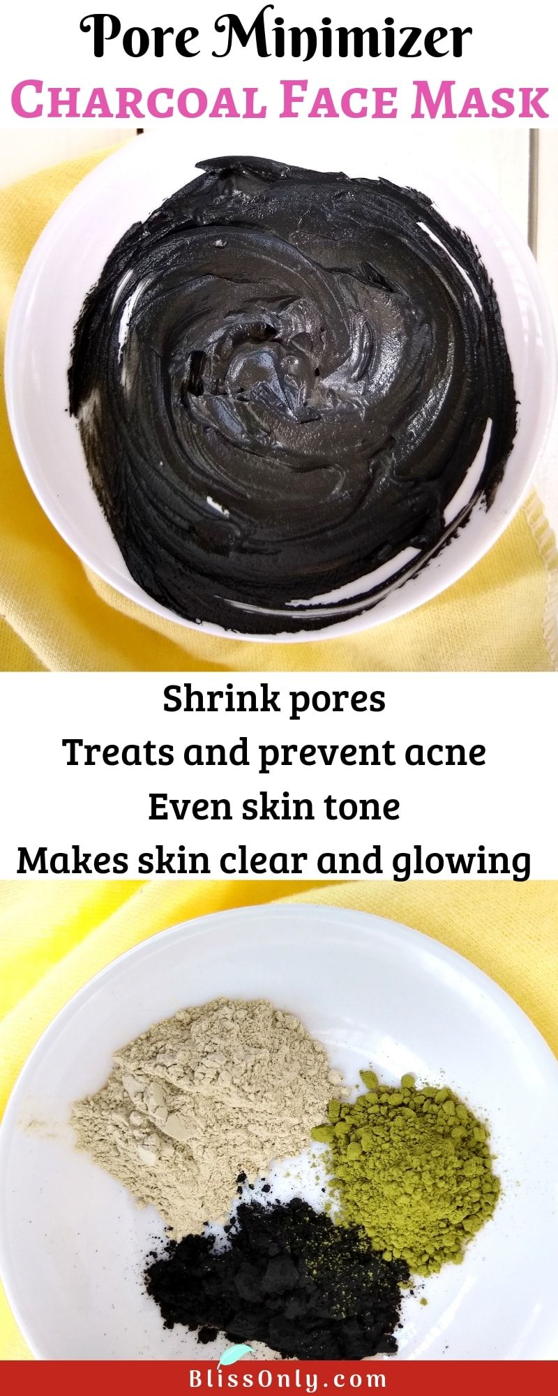 Photo of Pore Minimizer Charcoal Face Mask – BlissOnly