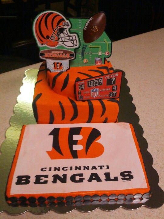 Prime Bengals Cake Birthday Cake Cake Cupcake Cookies Personalised Birthday Cards Paralily Jamesorg