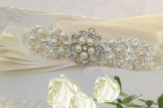 Hey, I found this really awesome Etsy listing at https://www.etsy.com/listing/118426512/sale-bridal-headband-wedding-hair