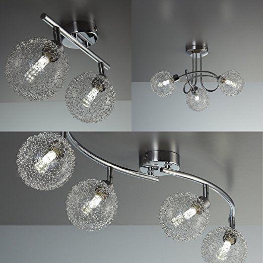 LED Deckenleuchte Schwenkbar Inkl 3 x 3,5W Leuchtmittel G9 Mit
