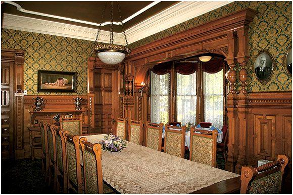 Dining Room, The Ingomar Club, Eureka, California | Historic Dining ...