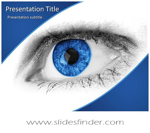 Create effective blue eye ppt presentation with our free blue free powerpoint ppt templates backgrounds and themes toneelgroepblik Choice Image