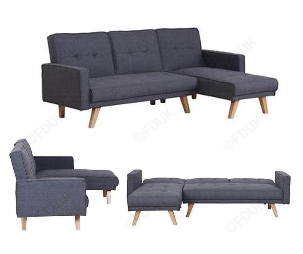 120 Reference Of L Shape Grey Sofa Bed In 2020 Grey Sofa Bed House Furniture Design Gray Sofa