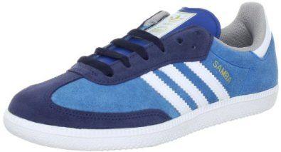 55404606a1f0 Adidas Trainers Shoes Mens Samba Light Blue  Amazon.co.uk  Shoes ...