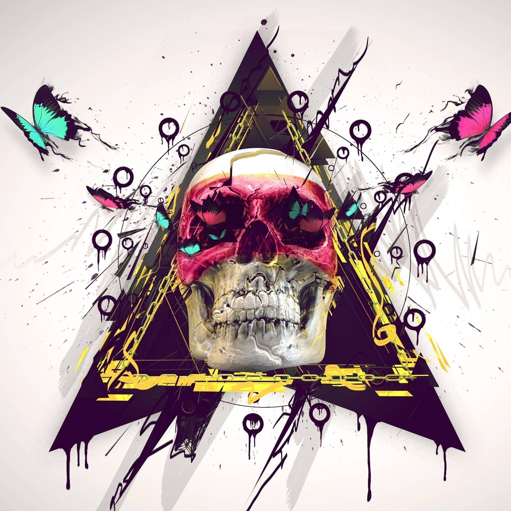 Iphone wallpaper tumblr skull - Fine Art Retina Wallpaper Ipad 3 By Lost Dove On Deviantart