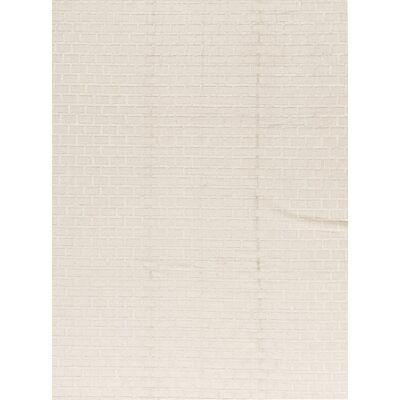 Photo of Bokara Rug Co., Inc. Geometric Wool Silver Space Rug