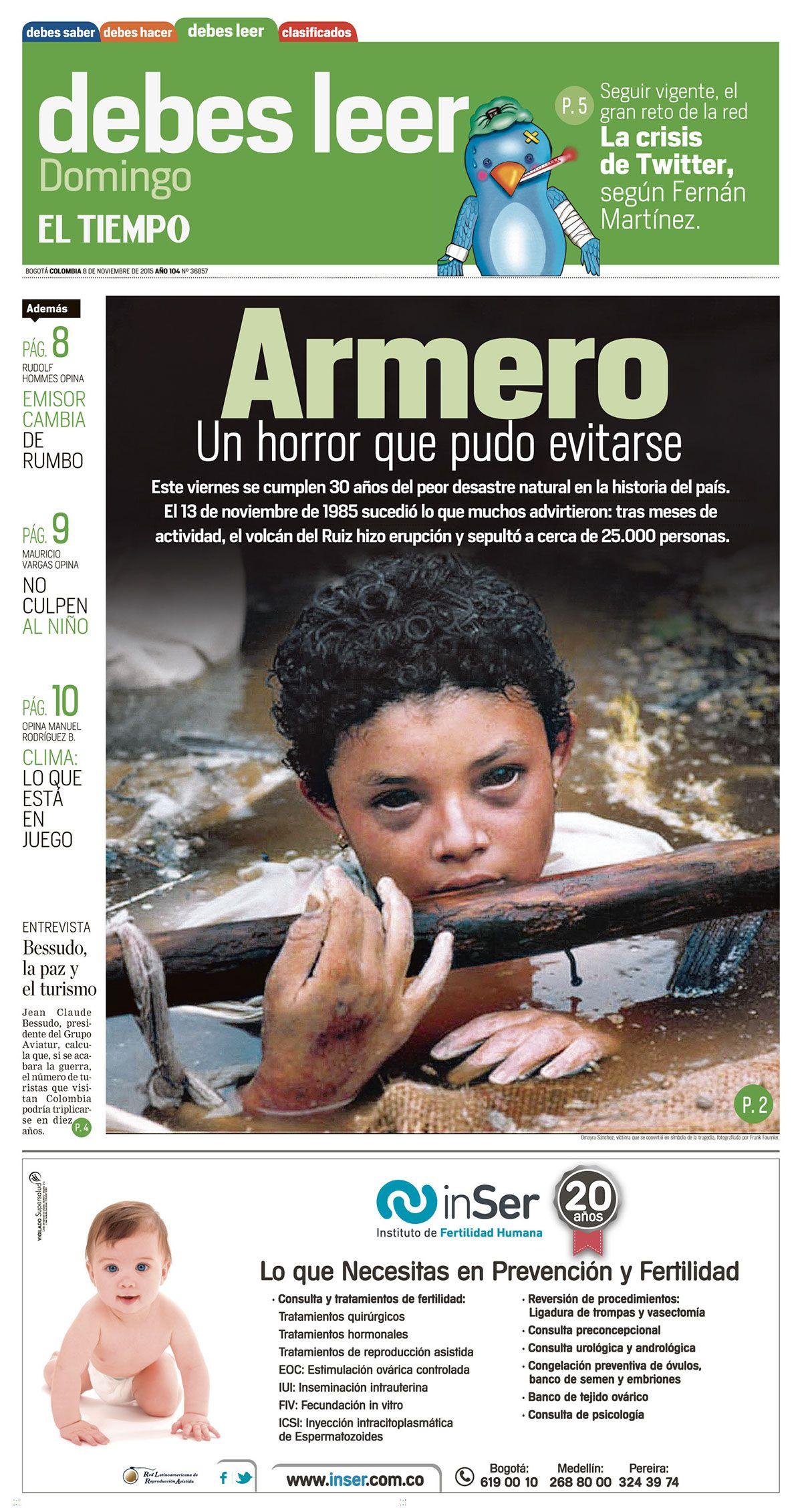 30 años de la tragedia de Armero, Colombia on Behance