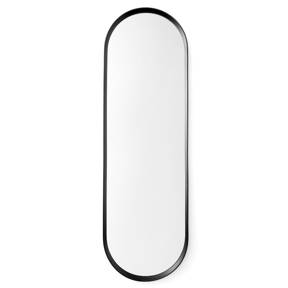 Oval Wall Mirror In Black Design By Menu With Images Oval Wall