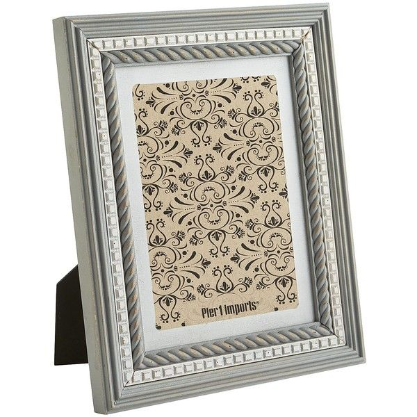 Pier 1 Imports Gray White Frame 26 Cad Liked On Polyvore