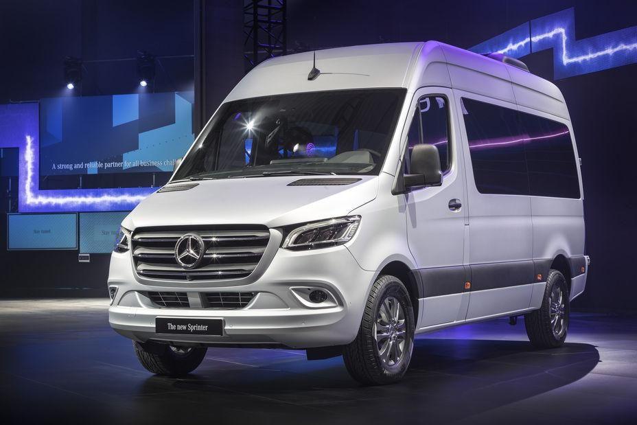 Mercedes Benz The Van Built For Business Contest Mercedes Sprinter Mercedes Van Mercedes