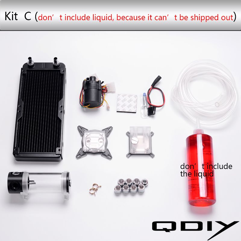 Desktop Computer Water Cooling Parts Water Cooled Accessories 240
