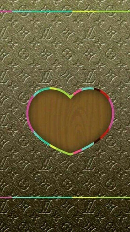 LV HEART discovered by Kimberly Rochin on We Heart It