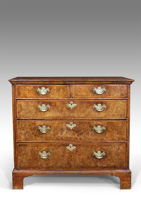 early walnut chest of drawers in 2019 antique furniture chest of rh pinterest com