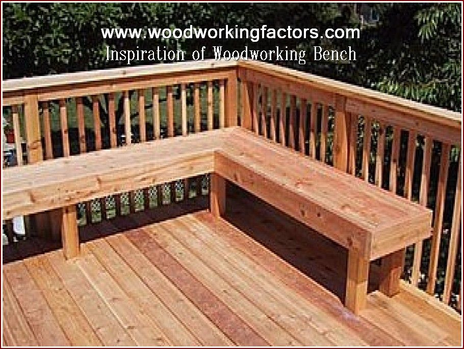 Woodworking Hardware Deck Seating Deck Bench Deck Bench Seating