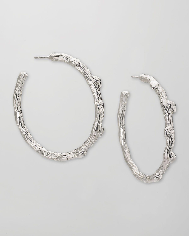 http://harrislove.com/elizabeth-showers-medium-silver-twig-hoop-earrings-1-3-4-p-4356.html