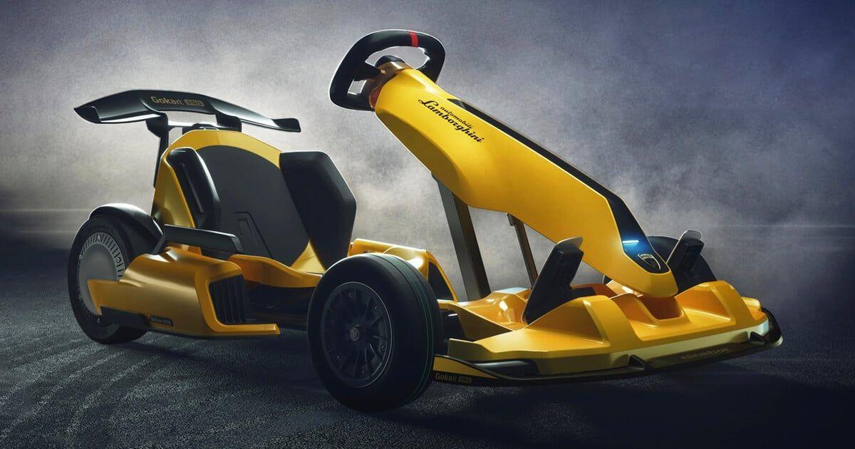 Lamborghini Unveils Gokart Pro For Adults Costing 1 500 Go Kart Lamborghini Lamborghini Concept