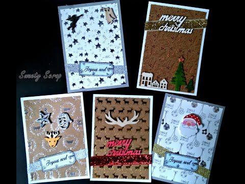 Scrapbooking Card Papier De Chez Action Tuto Card 002