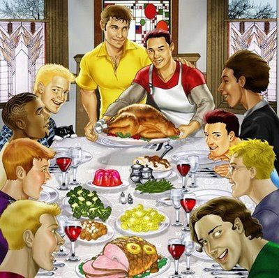 Gay thanksgiving images