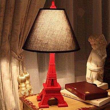 Eiffel Tower Resin Table Lamp