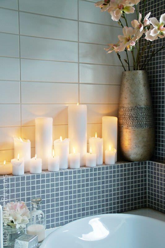 Bathroom Candles