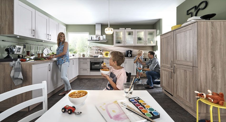 Familienküche   Kitchen and Interior Colours   Pinterest ...