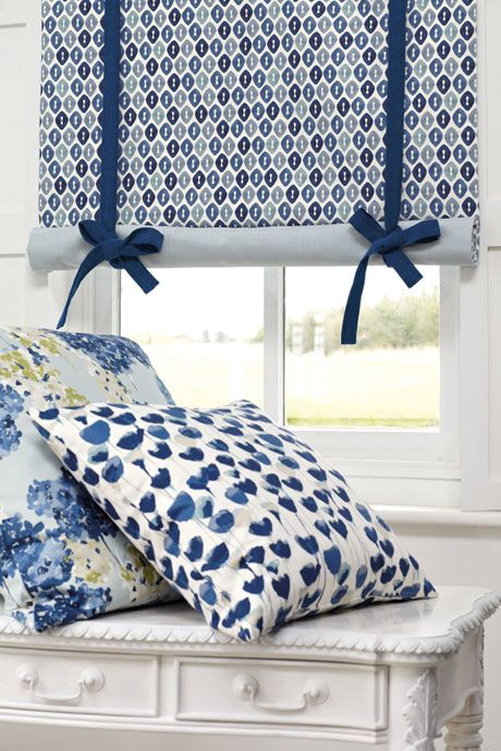 Beautiful New Tulipa Fabric Collection From Romo Bedroom