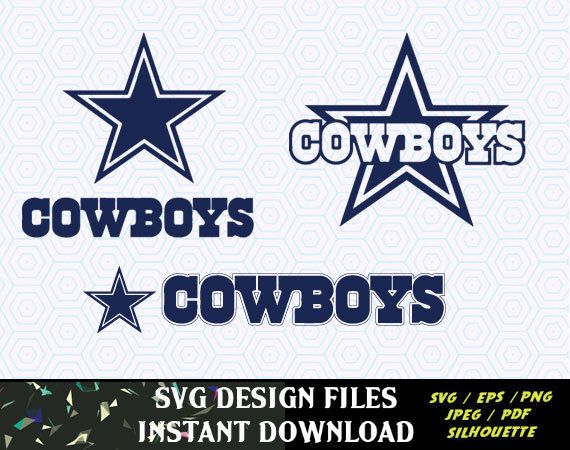 Download Dallas Cowboys SVG Vinyl Cutting Decal, for Mugs, T Shirts ...