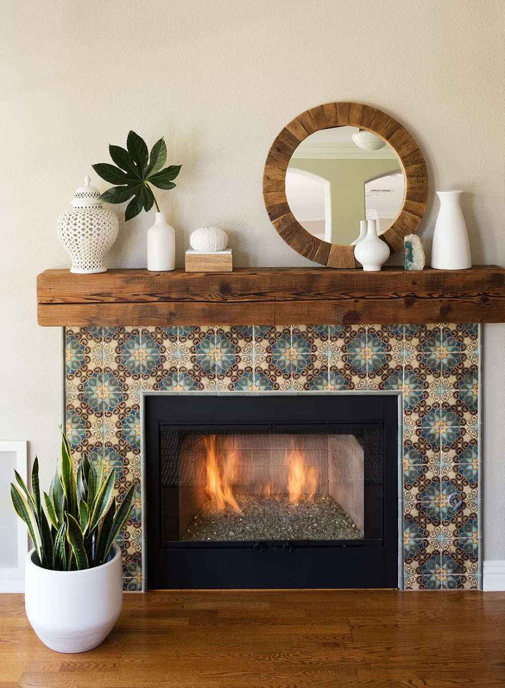 BeforeandAfter Fireplace Makeovers That Go From Cold to