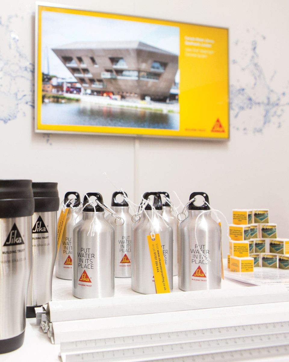 Sika Evolving Concrete exhibition giveaways   Michon Creative   Our