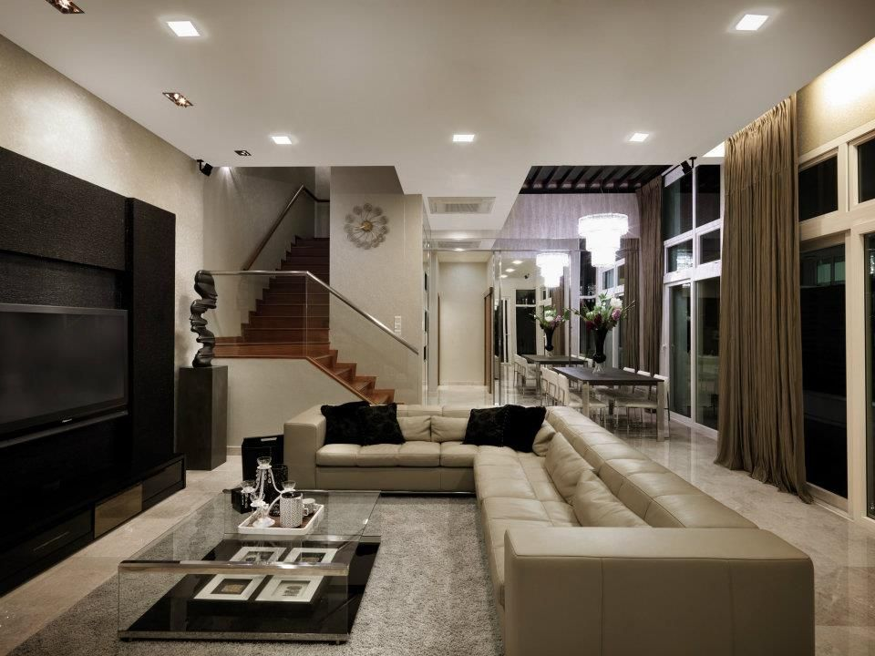 What our interior designer did with a semi d property in for Home interior design singapore