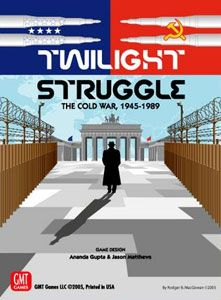 TWILIGHT STRUGGLE - DELUXE - THE COLD WAR, 1945-1989 (Eng)