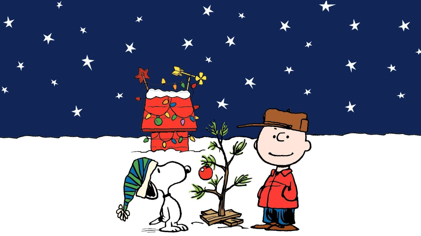 peanuts christmas wallpaper peanuts_christmas_desktop_1600x900_hd wallpaper - Peanuts Christmas