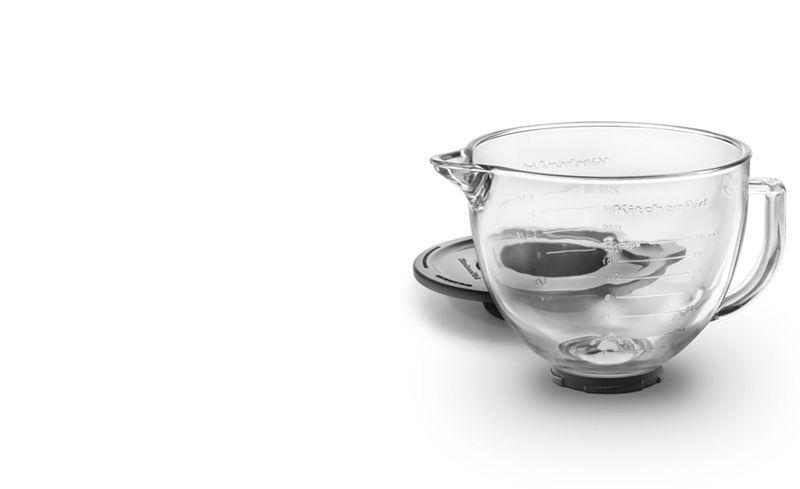 Kitchenaid 5 qt glass stand mixer bowl k5gb reviews