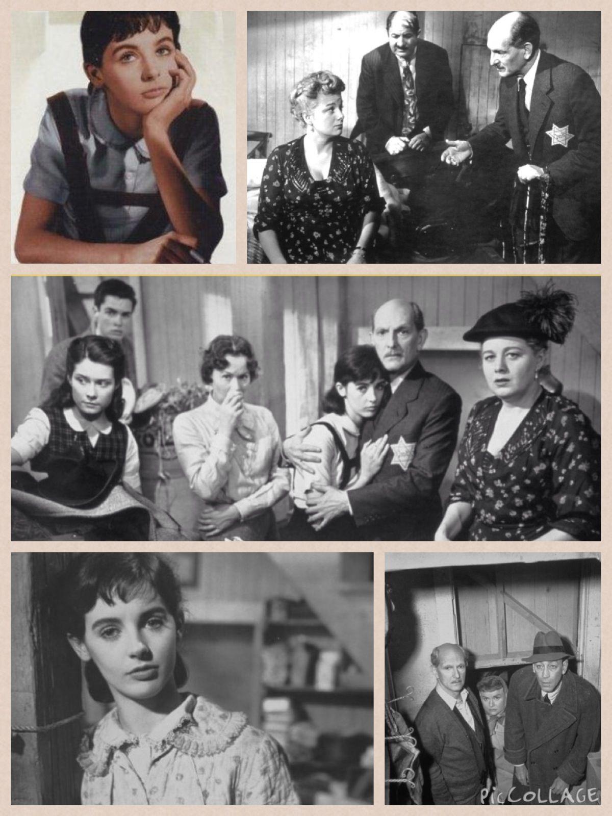 El Diario De Ana Frank 1959 Película Film Frank Pelicula Ana Frank El Diario De Ana Frank