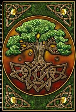 Celtic Tree Of Life Arbol De La Vida Celtico Arte Celta