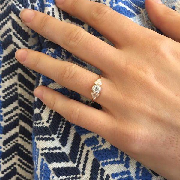 bague solitaire diamant createur