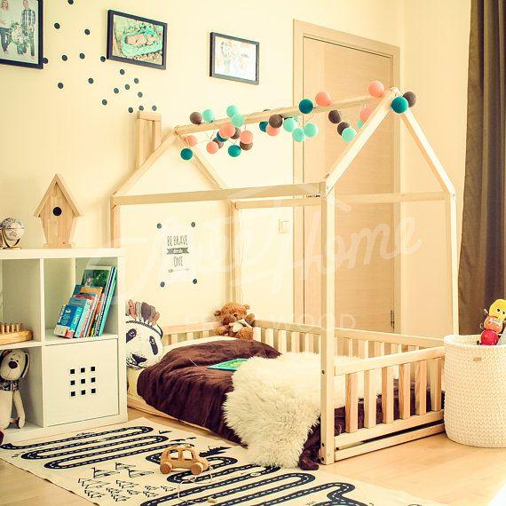 kleinkind bett haus ist eine erstaunliche holz kinderzimmer bett haus zum schlafen und spielen. Black Bedroom Furniture Sets. Home Design Ideas