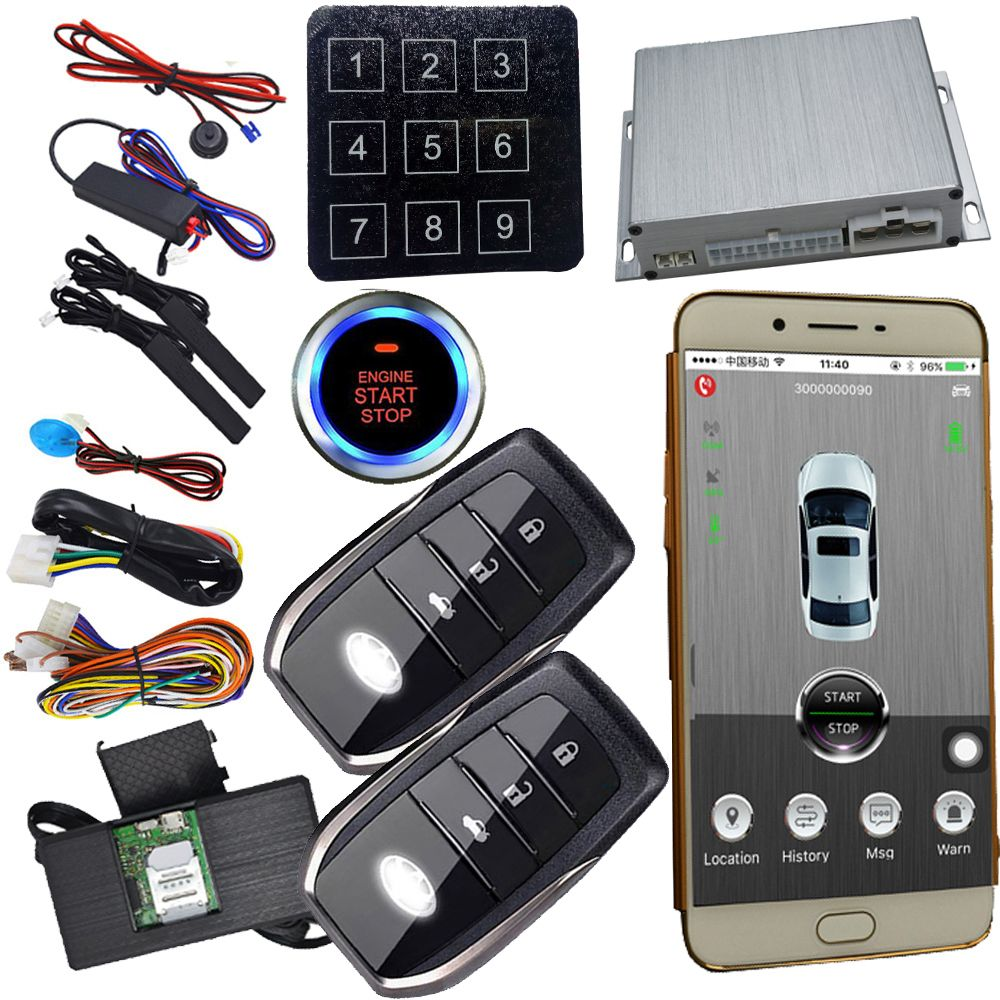 Remote Car Starter App >> Remote Car Starter Smart Key Lock Or Unlock Car Door Mobile