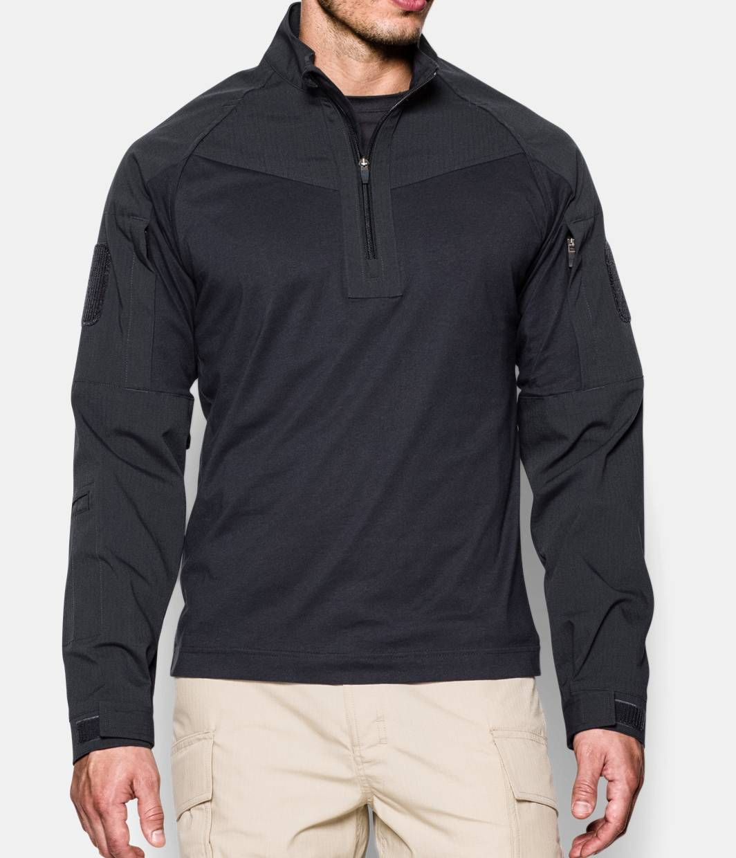 under armour shirt with hood