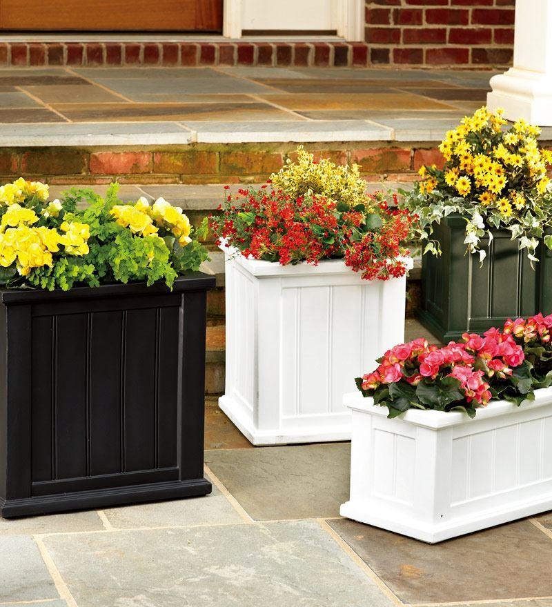 427 window box self watering planter patio planters