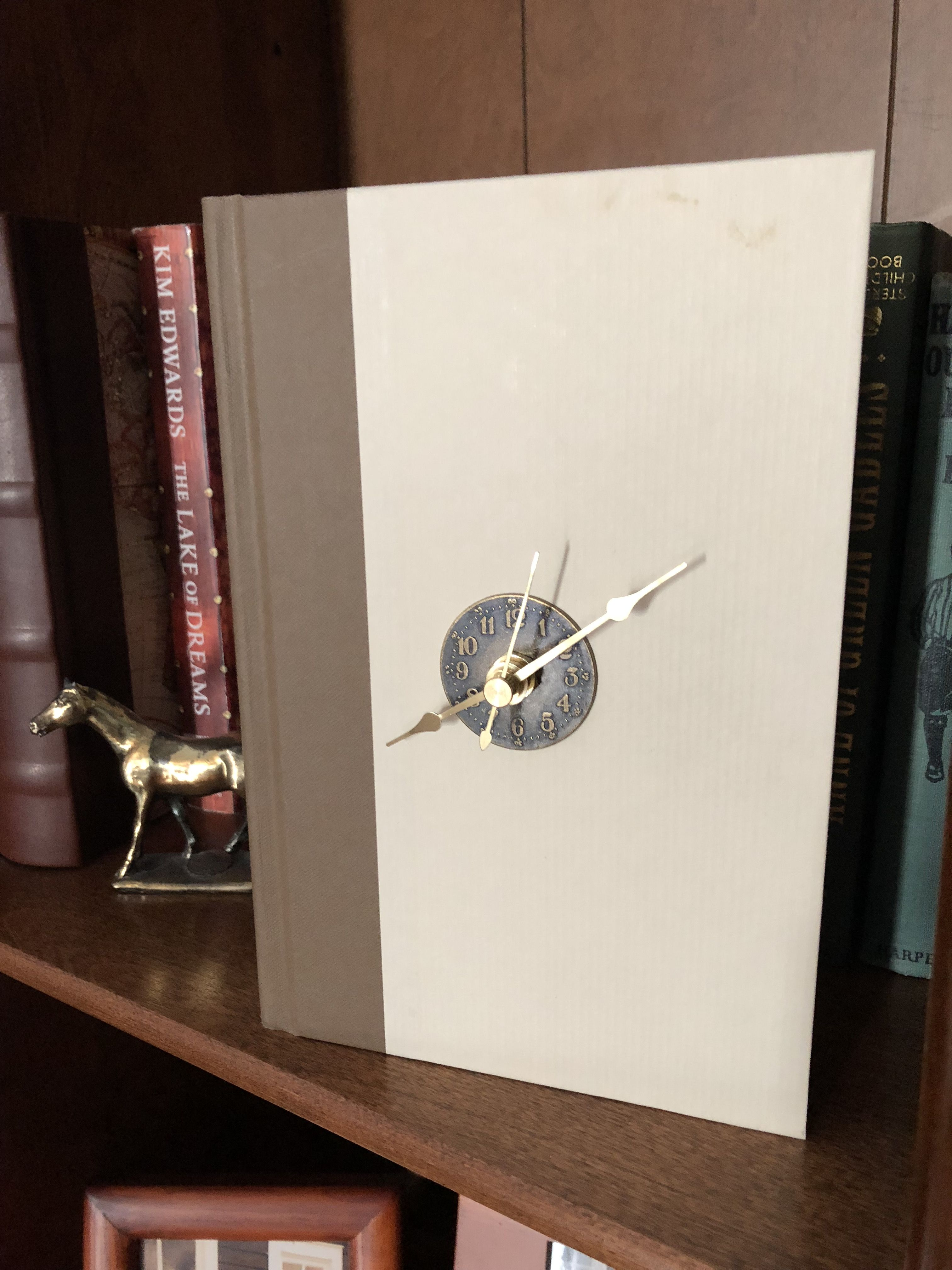 time for books kim edwards wall clock clock on kim wall id=30317